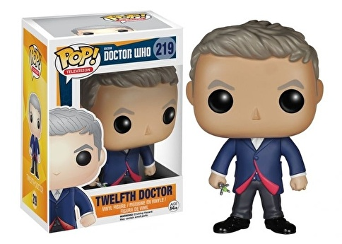 Funko Doctor Who Dr. #12 POP Renkli